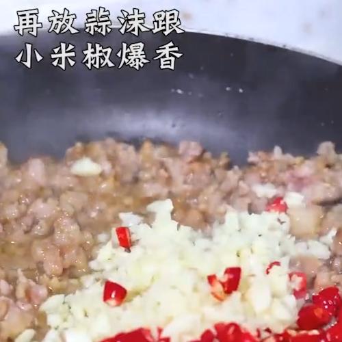 豆角肉末的简单做法