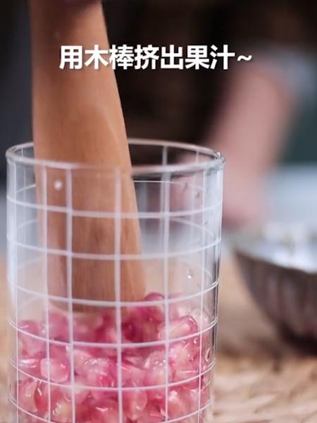 石榴苏打水的做法大全