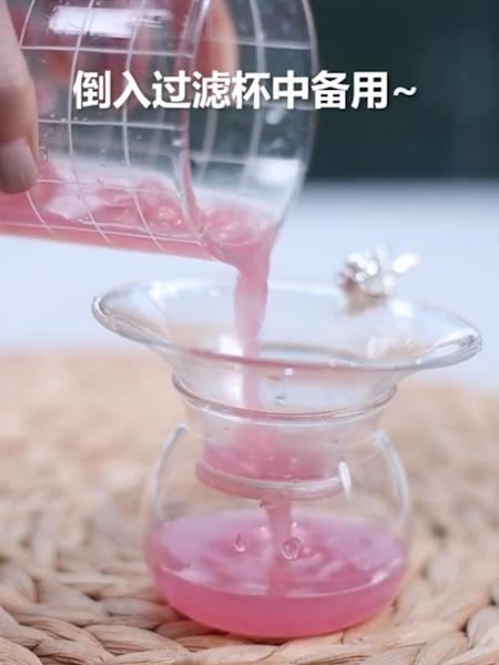 石榴苏打水的做法图解