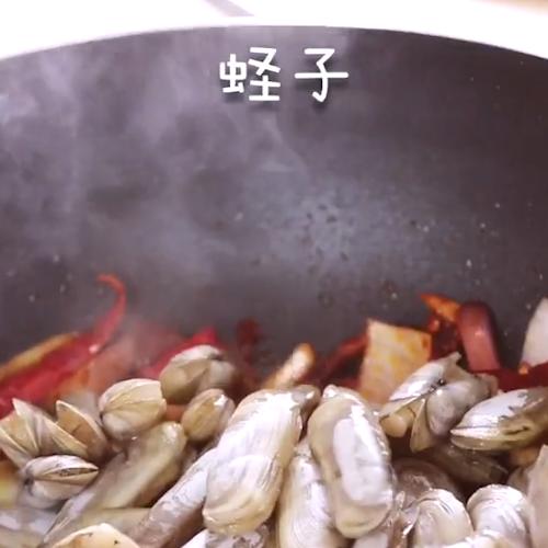 辣炒蛏子的做法图解