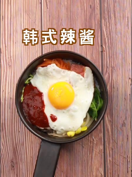 韩式拌饭的家常做法