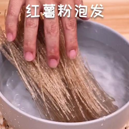 凉拌红薯粉的做法大全
