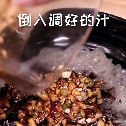 凉拌红薯粉的简单做法