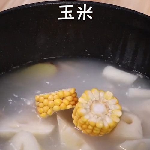 莲藕排骨汤怎么吃