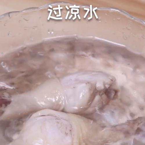 凉拌鸡腿肉的做法图解