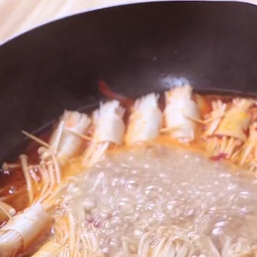 金针菇豆皮卷的简单做法
