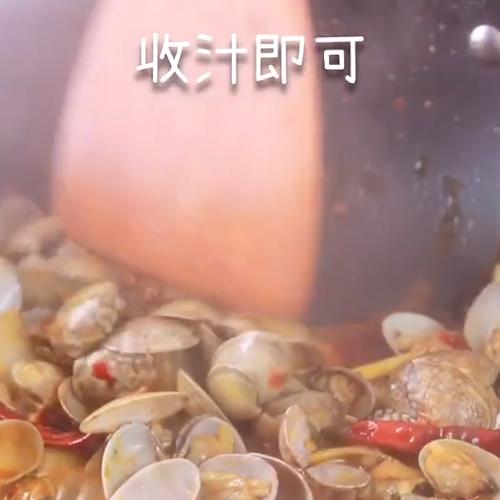 辣炒花甲怎么吃