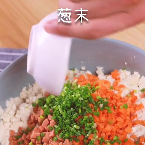 豆腐圆子的做法图解