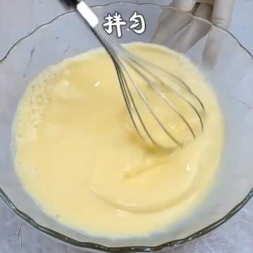 抹茶千層蛋糕的步驟