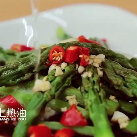 油泼芦笋的简单做法