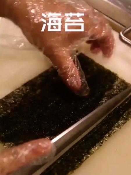 三文鱼沙律寿司的步骤