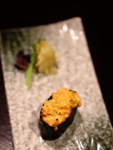 三文鱼沙律寿司成品图