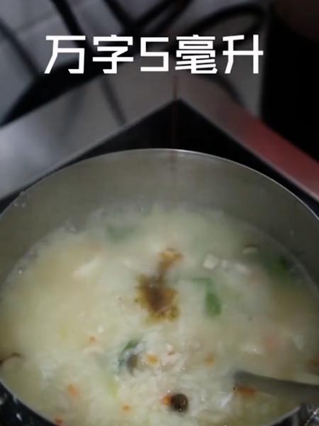 鸡肉什菇粥的简单做法