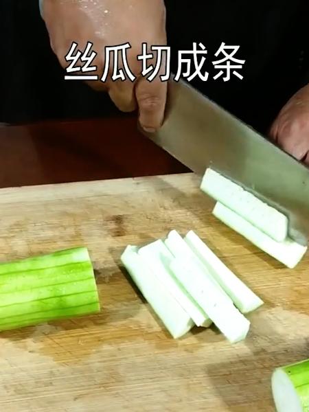 丝瓜炖鸡蛋的做法图解