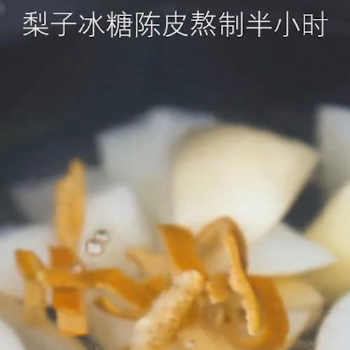 陈皮梨汤的家常做法