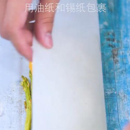 柠檬烤芦笋的步骤