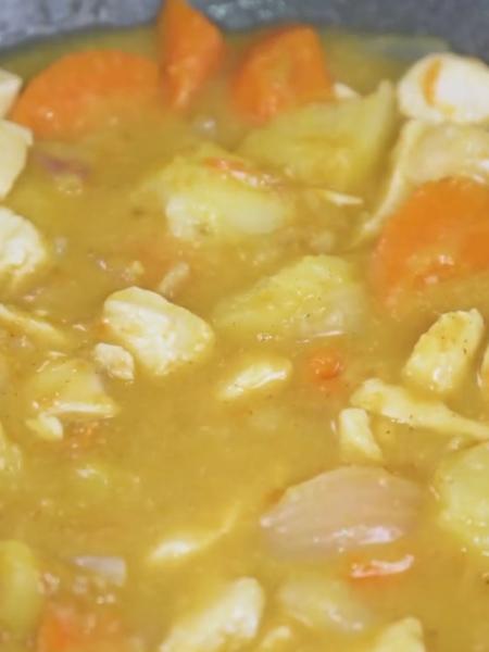 咖喱鸡丁的家常做法