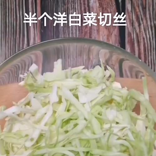 虾碎粉丝洋白菜的做法大全