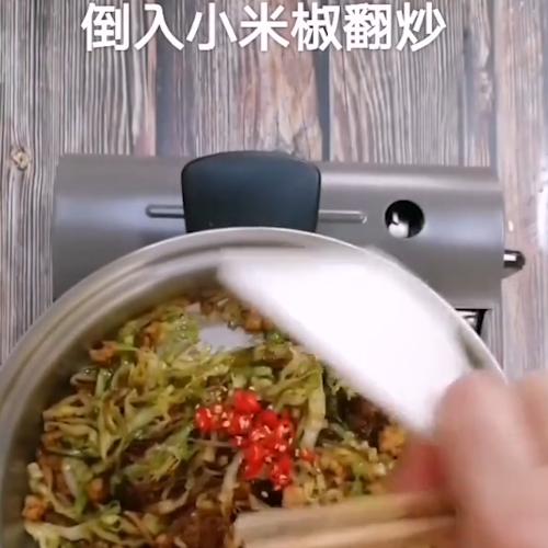虾碎粉丝洋白菜怎么煮