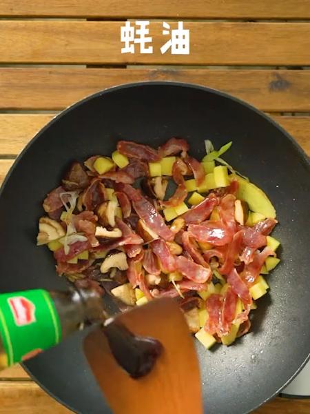 土豆腊肠焖饭的做法图解