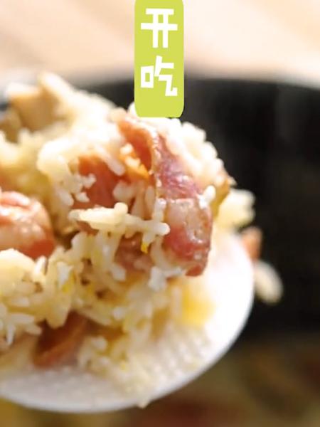 土豆腊肠焖饭怎么炖