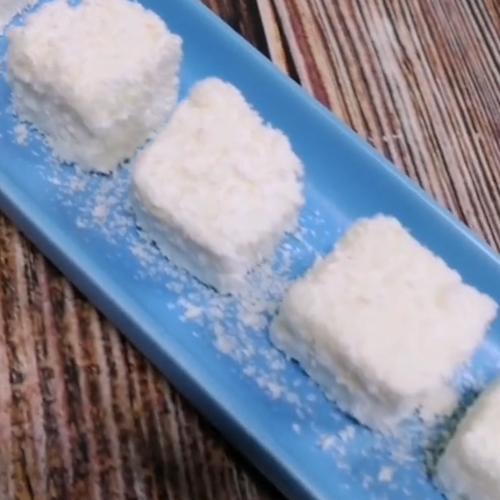 椰奶小方成品图