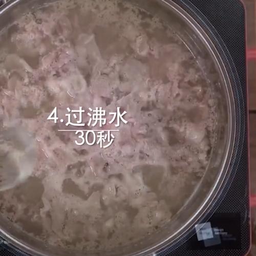 麻酱肥牛金针菇的简单做法