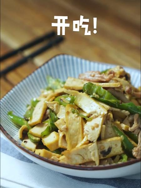 青椒香干炒肉怎么吃