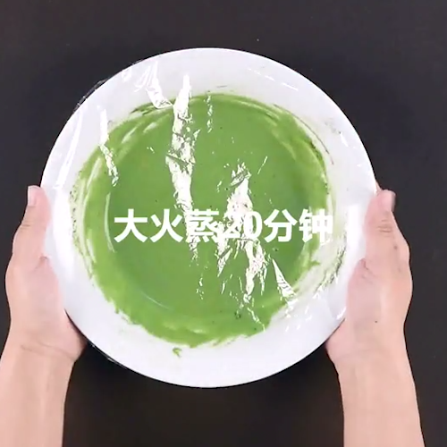 日式抹茶草莓大福的家常做法