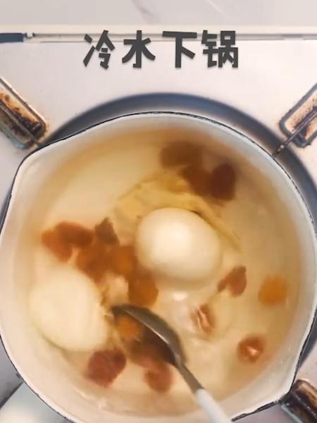 红糖当归鸡蛋的做法图解
