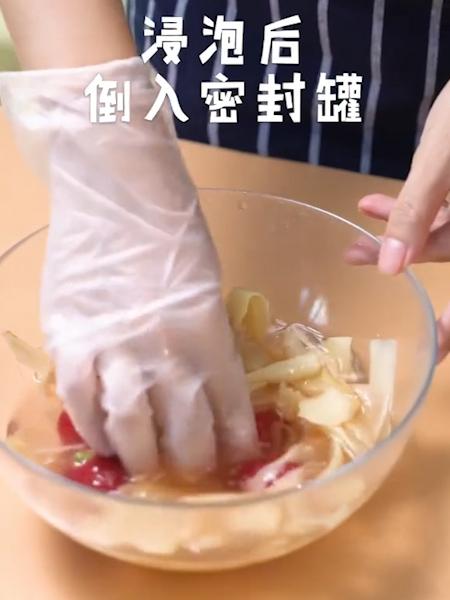 日式红姜的步骤
