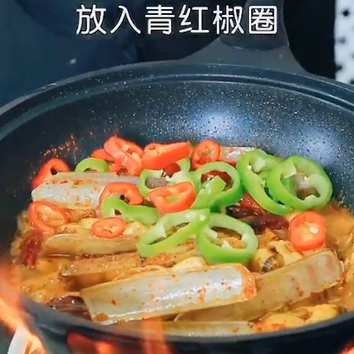 辣爆蛏王怎么煮