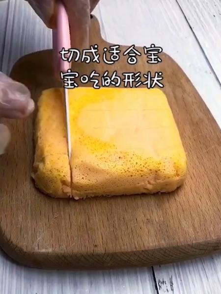 胡萝卜鸡蛋蒸糕的简单做法