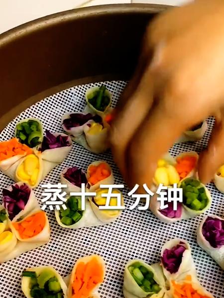 四色蒸饺的简单做法