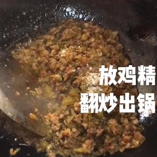 四川杂酱米线的家常做法