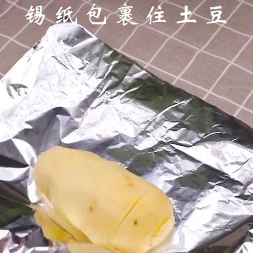 风琴土豆的做法图解