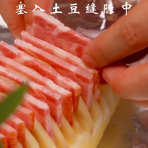 风琴土豆的简单做法