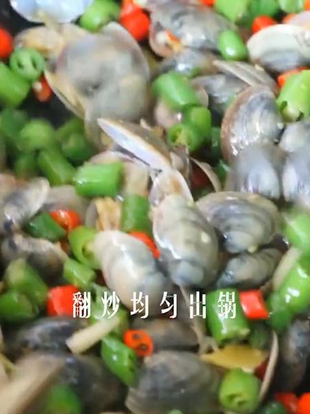 辣炒花甲的简单做法