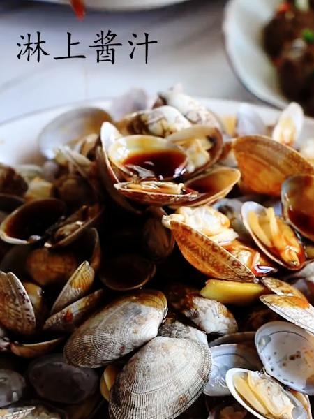 葱油淋蛤蜊的简单做法