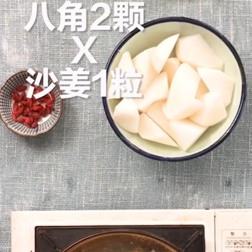 牛尾萝卜汤的家常做法