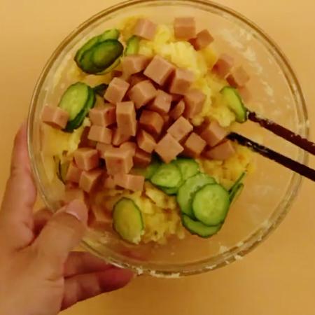 鸡蛋土豆沙拉的家常做法