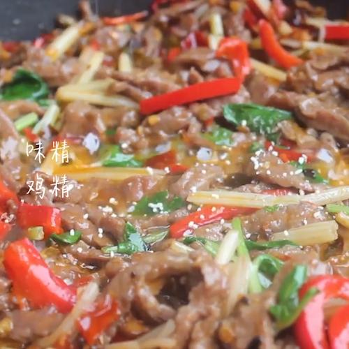 芹菜炒牛肉怎么炒