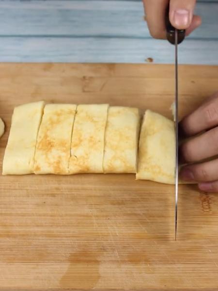 香蕉酸奶卷的家常做法