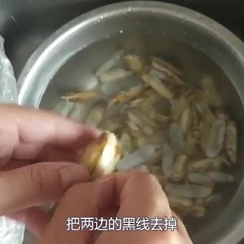 辣炒蛏子的家常做法