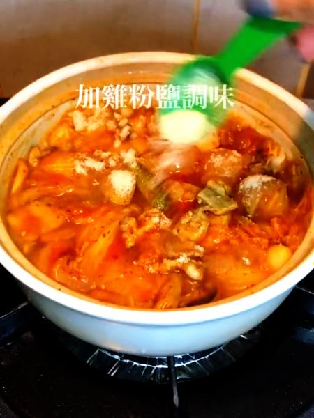 韩式泡菜豆腐怎么做