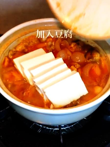 韩式泡菜豆腐怎么炒