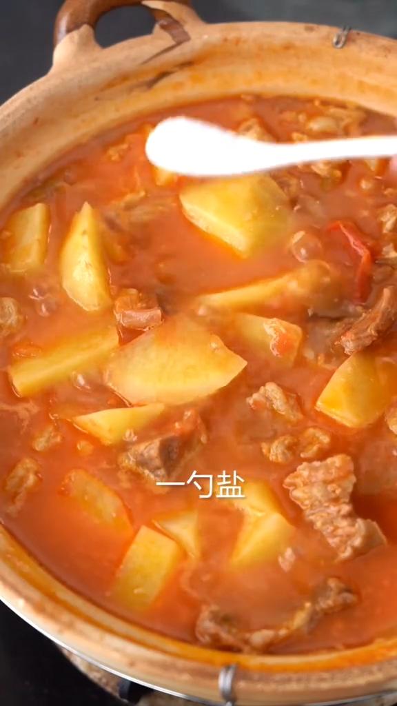 番茄土豆炖牛腩的简单做法