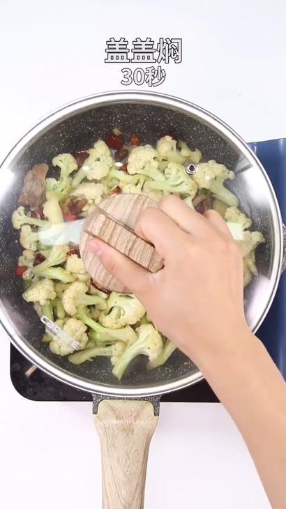 干煸菜花的简单做法