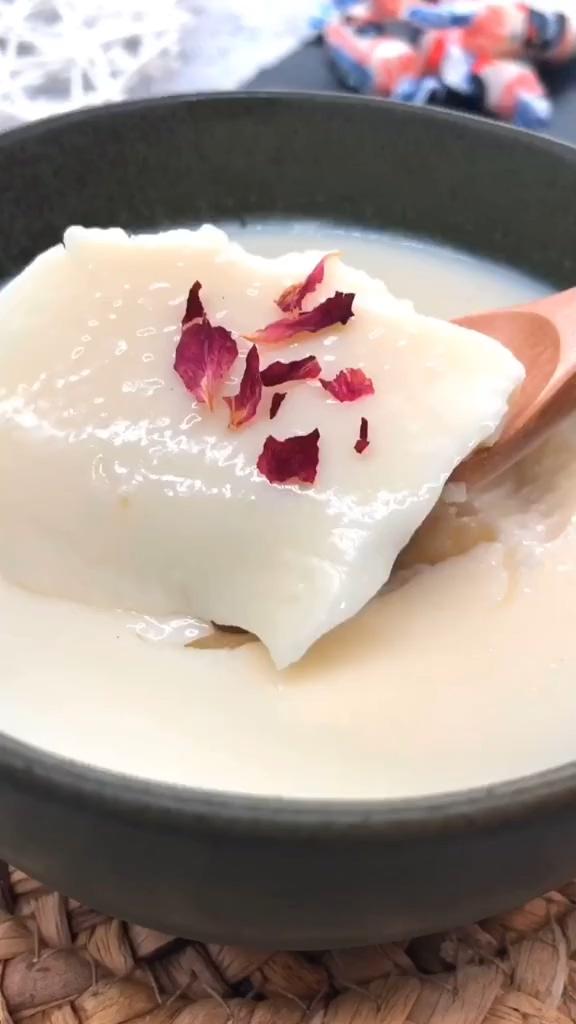 大白兔奶冻的简单做法