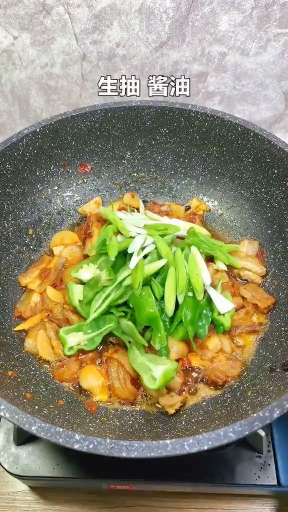 青椒回锅肉的简单做法